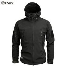 Chaqueta para motociclista Shark Soft Shell Military Tactical Jacket Men